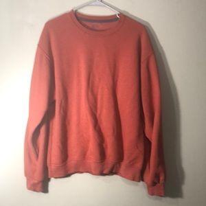 Sweatshirt rusty orange color, very good condition